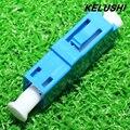KELUSHI Más Nuevo 10 unids Conectores De Fibra Óptica, LC Simplex Fibra Acoplador/Adaptador para Las Telecomunicaciones