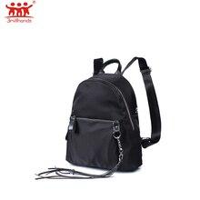 Новое поступление Модные кисточки Рюкзак Повседневная двойной ремешок Женская дорожная сумка рюкзак сумка через плечо