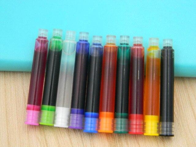 10 Pc vert diameter3.4mm macroporeux répond aux normes internationales encre stylo plume