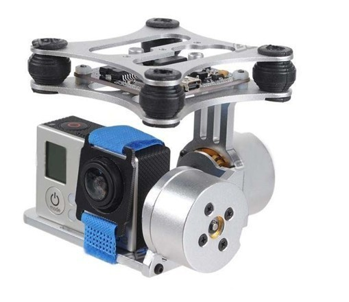 Gopro Hero3 Brushless Camera Mount Gimbal Assembled RTF for DJI F450 F550 X525 quadcopter 2 aixs 2d brushless camera gimbal for sjcam gopro xiaomi yi action camera fpv drone multirotor quadrocopter s500 f450 f550