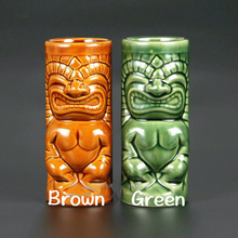 Free Shipping Hawaii Tiki Mugs Cocktail Cup Beer Beverage Mug Wine Mug Ceramic Tiki Mugs