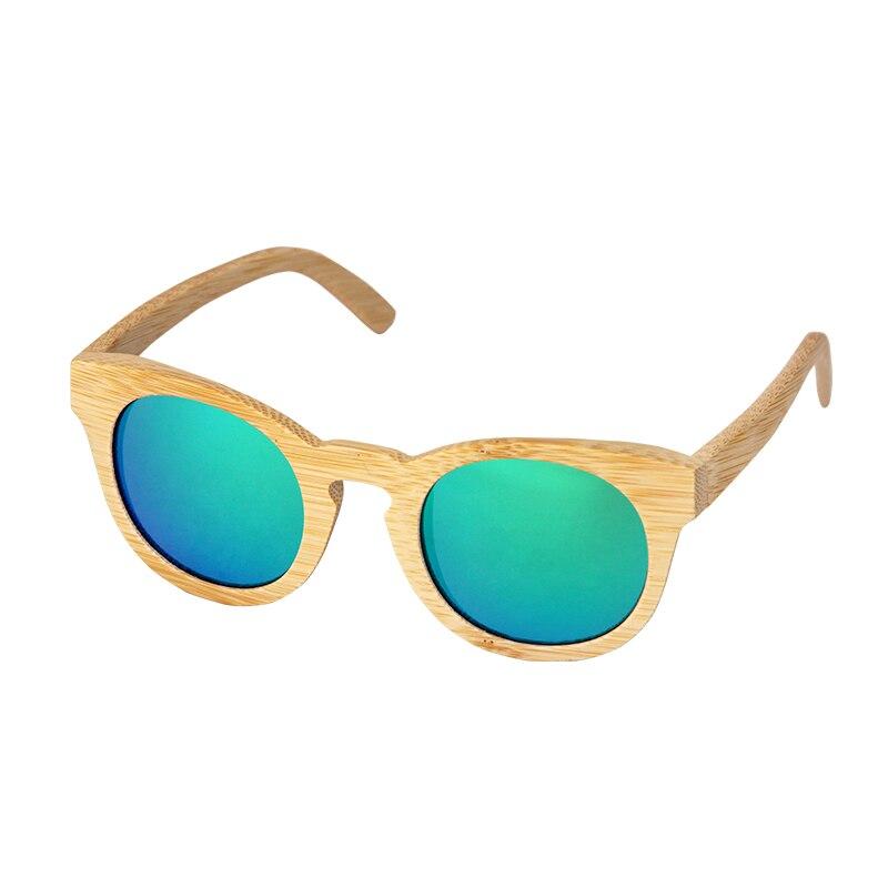 Retro Handmade Bamboo frame Polarized sunglasses for women man Driving sun glasses Beach Anti UV brand eyeglasses in Women 39 s Sunglasses from Apparel Accessories