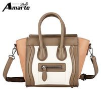 Amarte Women Handbag Luxury Brand Women Big Capacity Handbags Fashion Casual Tote Bag Women Top Handle