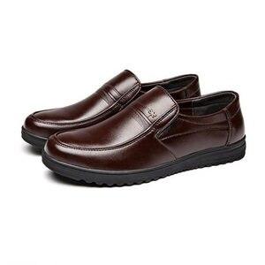 Image 4 - Mazefeng אביב זכר שמלת נעלי אופנה גברים נעליים יומיומיות אמיתי עור נעלי גברים עסקים לנשימה פרה עור בוהן מרובע