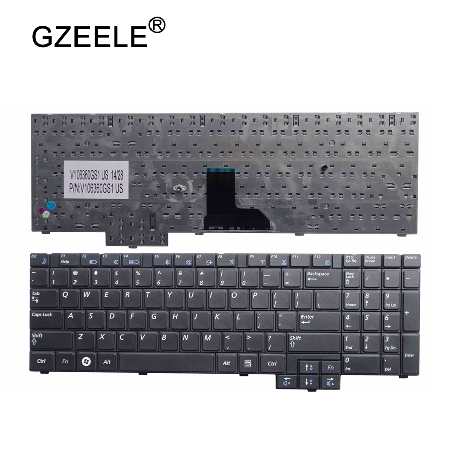 GZEELE English notebook keyboard FOR samsung R620 R528 R530 R540 NP-R620 R525 NP-R525 R517 R523 RV508 US layout laptop keyboard new keyboard for samsung np r525 np r540 r530 r620 r528 ru layout page 5 page 3