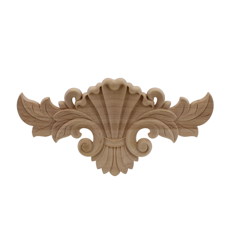 Runbazef carving decoration maison wood applique furniture cabinet door frame wooden decal - Maison wooden ...