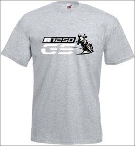 Image 5 - T Shirt manches courtes col rond homme, en coton, pour Fans de motocyclette, R 1250 Gs, imprimé, tendance 2019