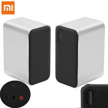 Xiaomi Bluetooth компьютерный динамик 12 Вт 2,4 ГГц двойной бас стерео портативный Aux DSP с микрофоном светодиодный индикатор
