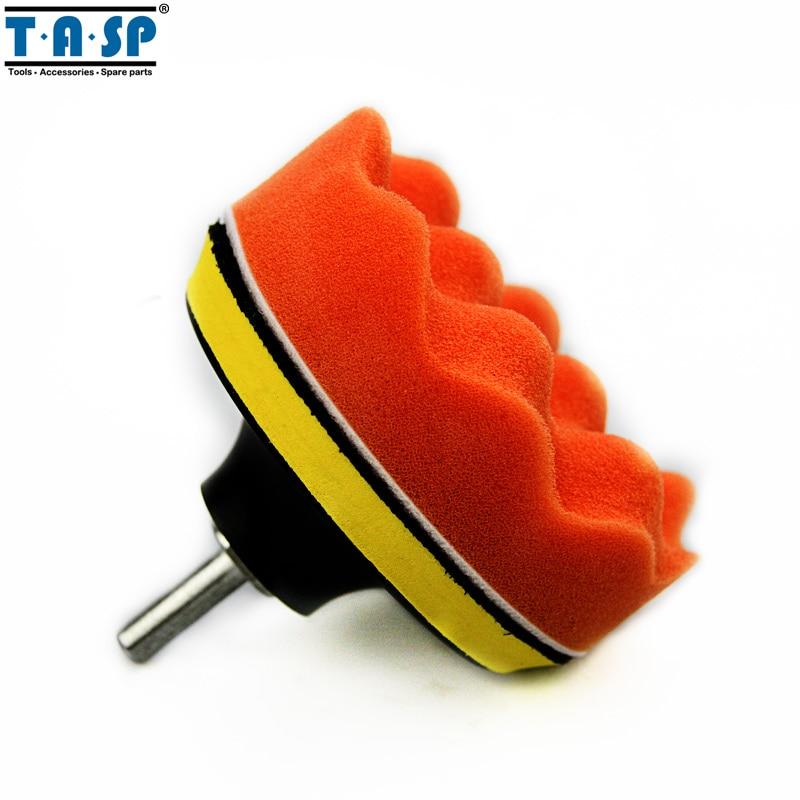 TASP 100mm polírozó betét-csiszoló párna készlet autó - Elektromos kéziszerszámok - Fénykép 5