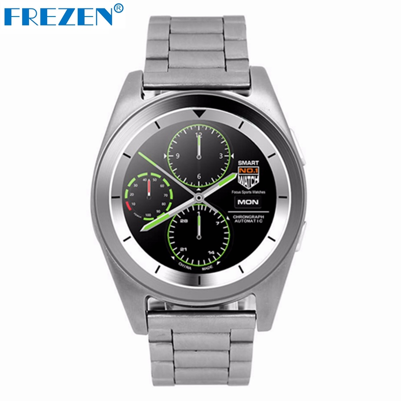 FREZEN Metal strip G6 Smart Watch MTK2502 Smartwatch Sport Bluetooth4.0 Tracker Call Running Heart Rate Monitor for Android IOS wireless service call bell system popular in restaurant ce passed 433 92mhz full equipment watch pager 1 watch 7 call button