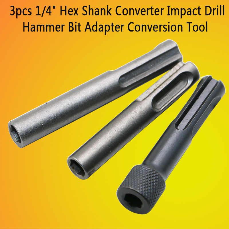 Martillo eléctrico de alta calidad conversión de la varilla de conexión de la manga SDS convertidor hexagonal interno impacto taladro cabeza adaptador herramienta textura
