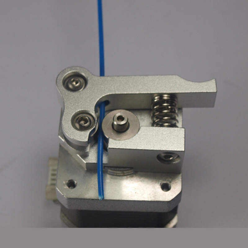 ФОТО 3D printer extruder right hand upgrade edition full metal aluminum right way side extrusion Compatible with Makerbot Replicator2