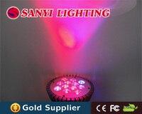12W led grow lights grow par38 light for flowers plants  AC85-265V red blue/ red/ blue/ orange/ yellow/ white for choose