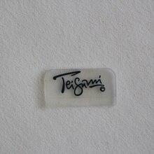 1000 шт./лот) Индивидуальные Пластиковые ПВХ силиконовые этикетки с логотипом и фирменными именами, прозрачные резиновые нашивки на одежду/значки