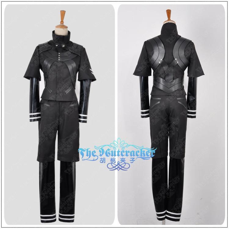 Tokyo ghouls Kaneki Ken Fight Uniform Made Cosplay Costume dress NEW