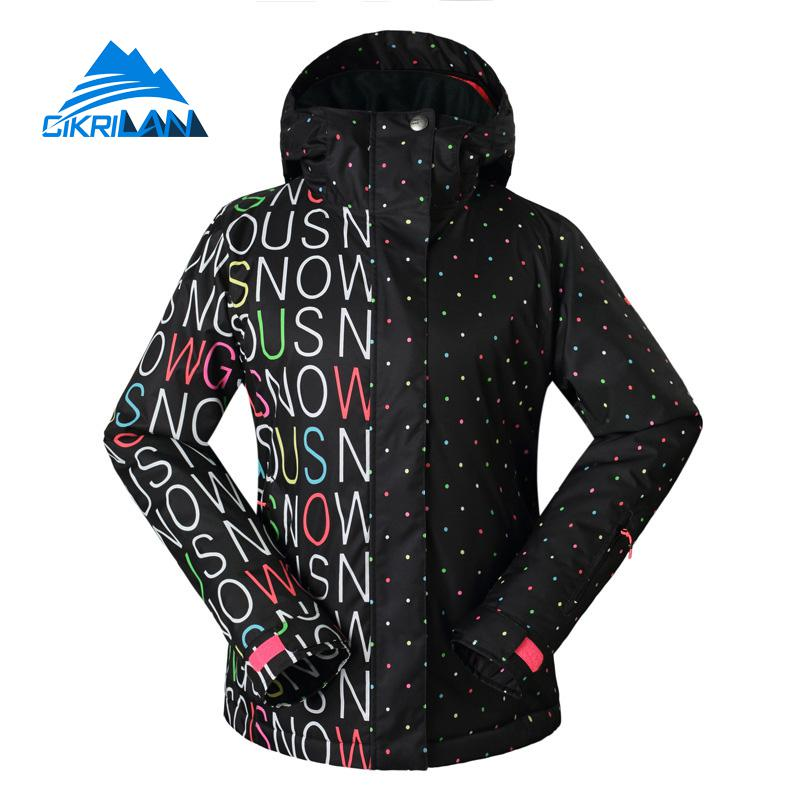 Hot Sale Skiing Windstopper Waterproof Padded Coat Winter Snowboard Ski Jacket Women Outdoor Hiking Climbing Roupas Feminina hot sale women ladies snowboard jacket waterproof breathable ski jacket female winter snow coat sport motorcycle anorak clothes