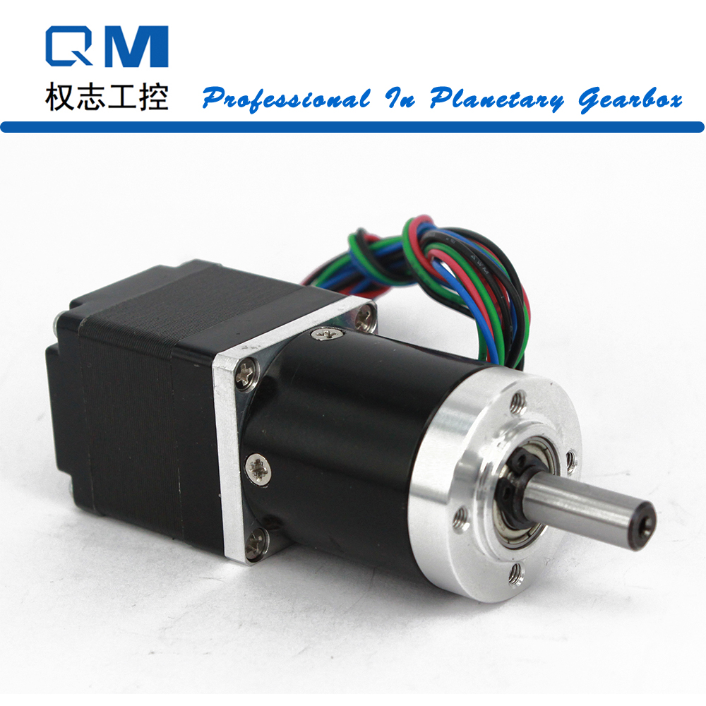 цена на Nema 11 Planetary Gearbox Gear Ratio 15:1 Gear Stepper Motor Nema 11 30mm 4-Lead Stepper Motor CNC Robot 3D Printer