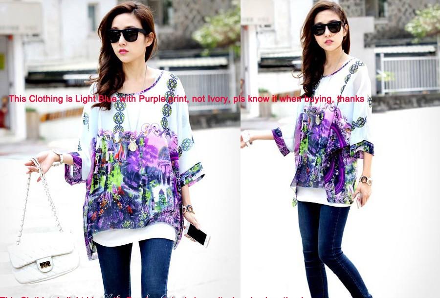 HTB1LlxQMpXXXXXqXpXXq6xXFXXXO - New Fashion Summer Women's Shirt Boho Style Batwing Casual