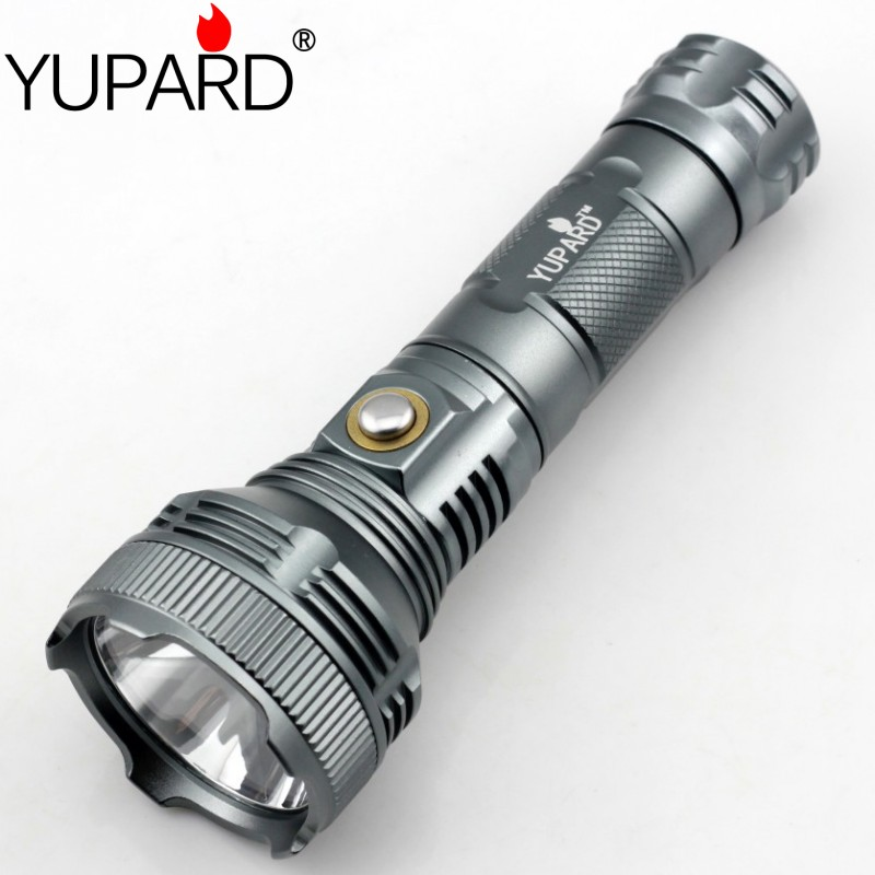 yupard high bright XM-L T6 LED torch LED flashlight camping lantern 18650 26650 rechargeable lamp outdoor sport fishing light yupard xm l2 led adjustable bright flashlight zoomable lamp t6 led light zoom rechargeable battery 26650 18650 aaa torch 5modes