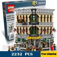 2232pcs Creator Grand Emporium DIY Model Building Blocks Minifigures Toys Compatible With Lego