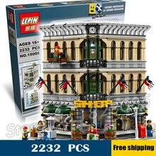 2232 pcs 15005 Créateur Grand Emporium modulaire bâtiments collection 3D Modèle Blocs de Construction Jouets Compatible avec Lego