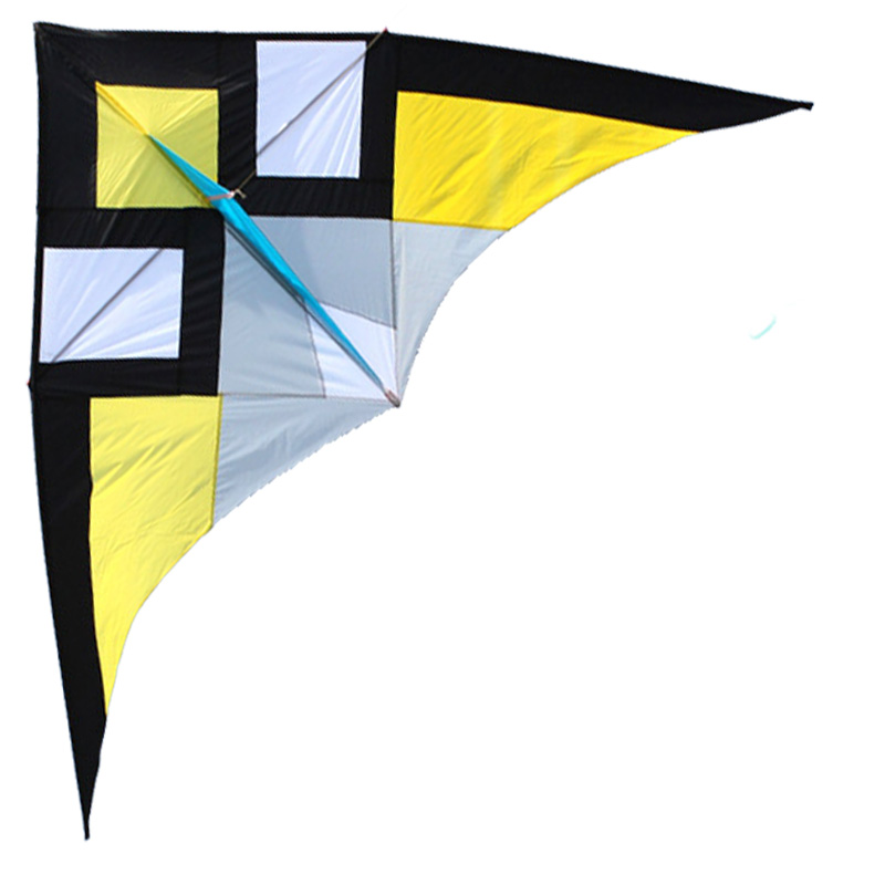 Livraison gratuite nouveaux jouets chauds 3 m qualité marchandises puissance Triangle cerf-volant avec poignée et chaîne bon vol - 2