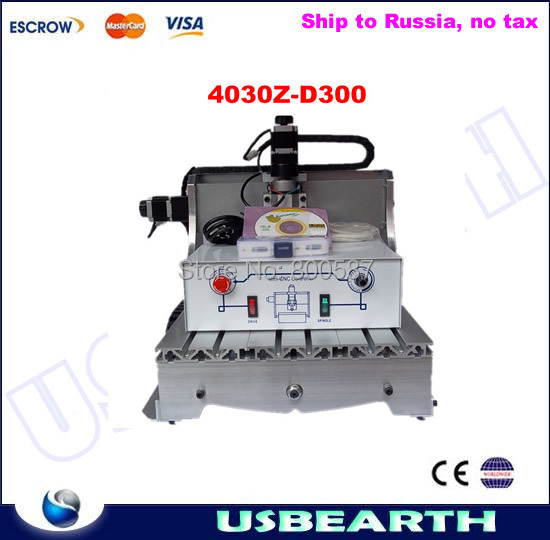 CNC engraving machine 3040Z-D300W, CNC router milling machine, CNC 3040Z-D applicable for cutting wood, no tax to Russia high steady cost effective wood cutting mini cnc machine milling