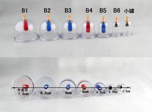 Image 5 - Tanie chiński Vacumm zestaw do baniek Kit medyczne Kangzhu 24 puszki kubki do ciała ssania aparatura próżniowa terapia krzywa pompy ssące