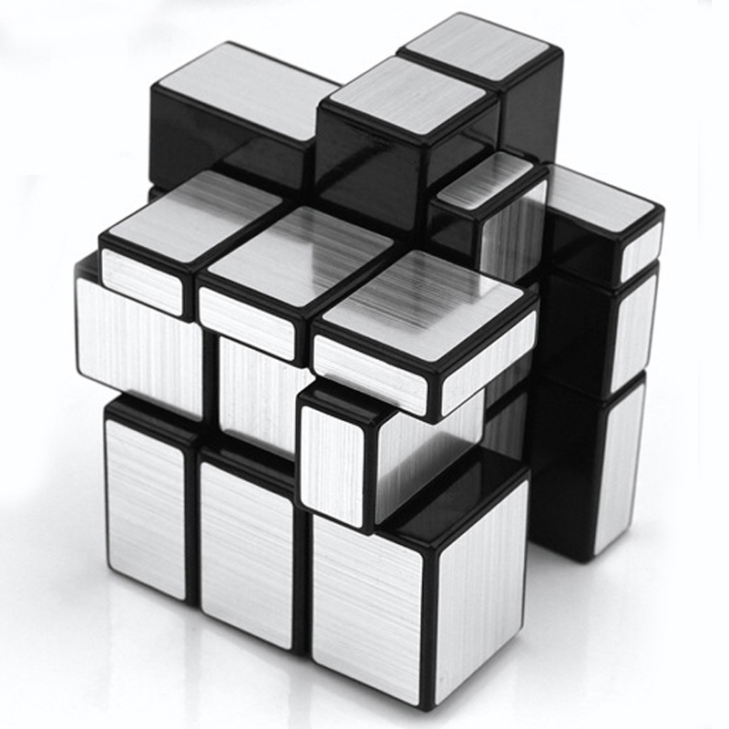 1pc 3x3x3 irregular wire drawing style cubes kids challenge