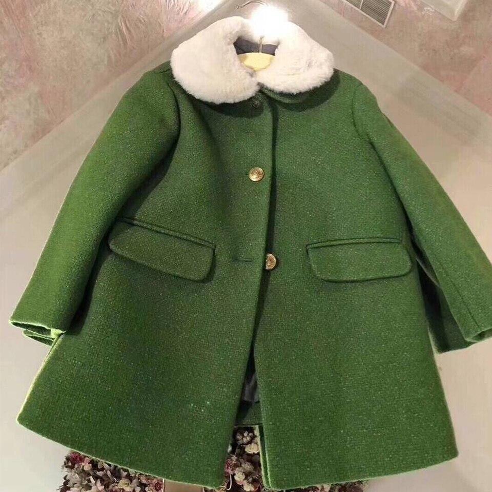 Enfant filles pardessus nouvelle mode vêtements pour bébé filles Adolescents automne hiver manteau chaud survêtement en début de Octobre