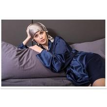 Silk Sleeping Cap Solid Color Multicolor 100% Silk Night Cap Night Wrap Head Cover for Hair Care Elastic Band sjm 02