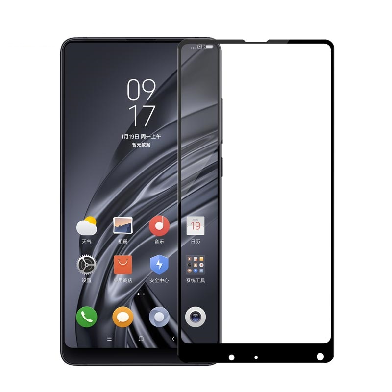 Xiaomi Mi Mix 3 Tempered Glass Xiaomi Mi Mix 2S Glass 2.5D Full Cover Screen Protector For Mix2 Mix3