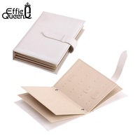 Effie Queen PU Jewelry Bag Gift Storage Bag Jewelry Holder Necklace Bracelet Earring Ring Pouch Organizer Bag Jewelry DSO02