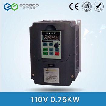 110V 0.75kw VFD Variable Frequency Drive Inverter / VFD Input 1HP 110V Output 3HP 110V frequency inverter