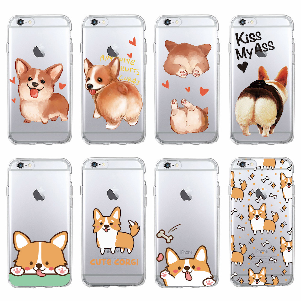 Clothes, Shoes & Accessories Kids' Clothes, Shoes & Accs. Smart Cute Ass Mickey Mouse Butt Dog Cat Duck Clear Soft Tpu Cover Case For Iphone Xs Max Xr X 8 6 6s 7 Plus