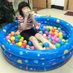 TouchCare Children Inflatable Kid Swimming Bathing Pools