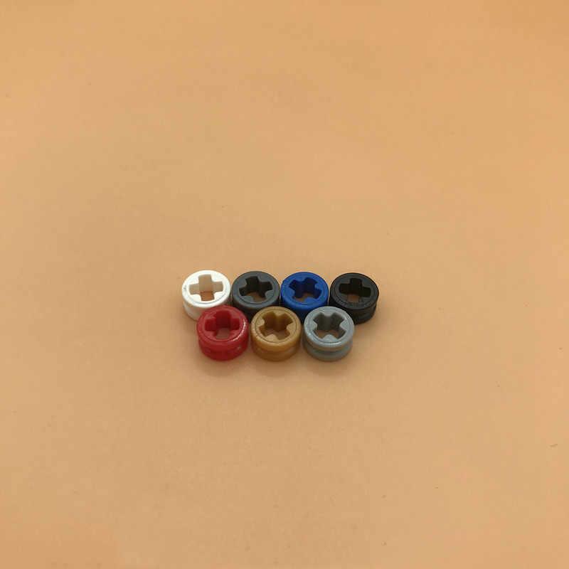Lego 4265c technic bush 12 smooth light gray x6