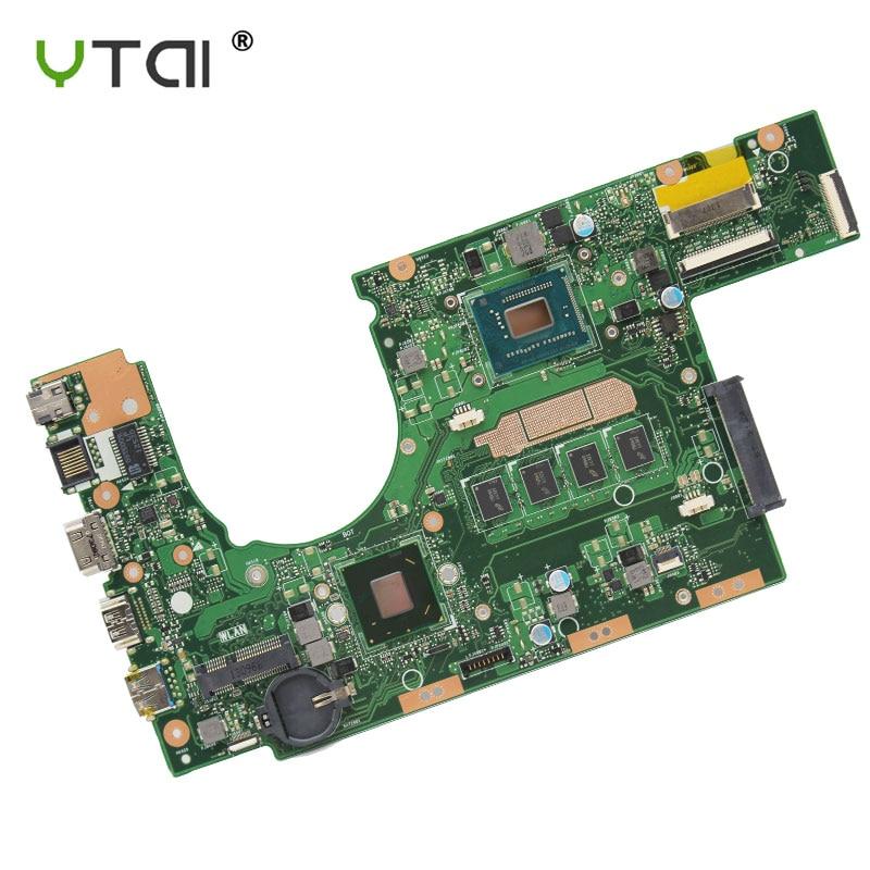 new For ASUS S300CA Laptop motherboard REV 2 1 1007U CPU 4GB RAM S300CA motherboard 100