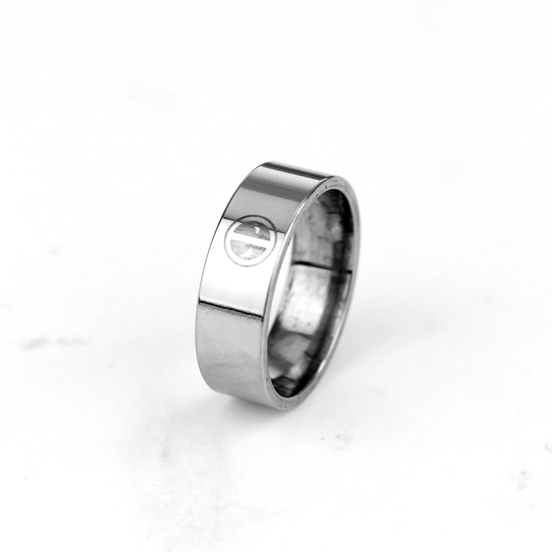 Deadpool Logo Stainless Steel Symbol Pattern Engraved On Raised Center Tungsten Ring Wedding Jewelry Bague Mood In Rings From Accessories