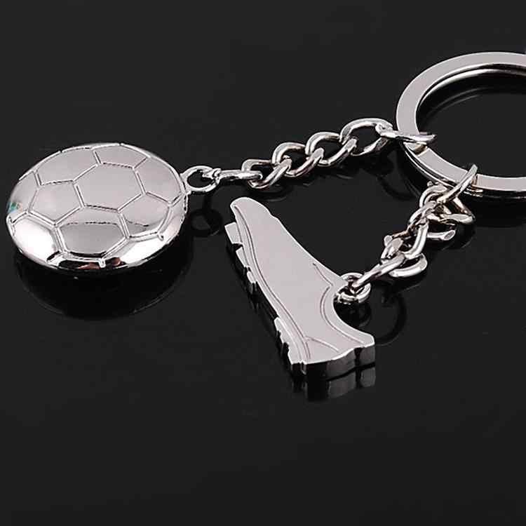 Chaveiro de metal sapatos de futebol chaveiro saco de metal carro chaveiro pingente de chave do carro transporte rápido feida e atacado #17030