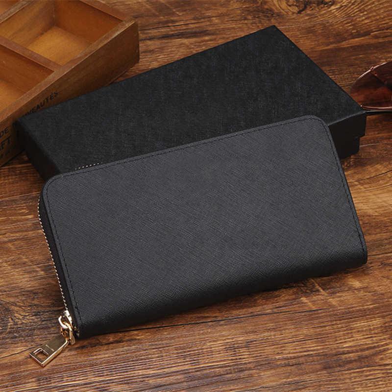 Designer de luxo mulheres Carteira de Couro Genuíno Carteiras Titular do Cartão de Dinheiro Bolsa da moeda bolsa de mulher embreagem bolsas cartera monedero mujer