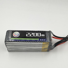 MOS 6S lipo battery 22.2v 2200mAh 25C For rc helicopter rc car rc boat quadcopter Li-Polymer battey