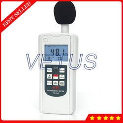 AS-156A cyfrowy miernik poziomu dźwięku 30 ~ 130dB miernik decybeli z hałasu Tester detektor jest C F częstotliwość ważenia