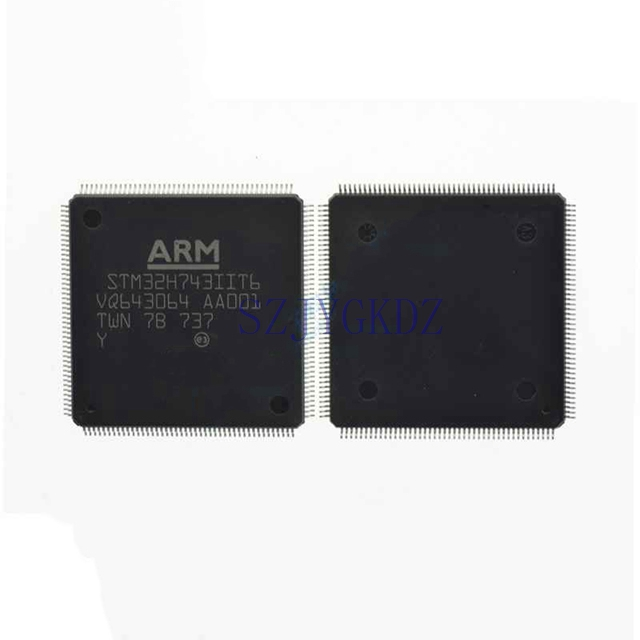 Stm32h743 Stm32 Mcu 32-битный процессор Arm Cortex M7 Risc 2048kb вспышки 3,3 v 176 Lqfp Stm32h743iit6
