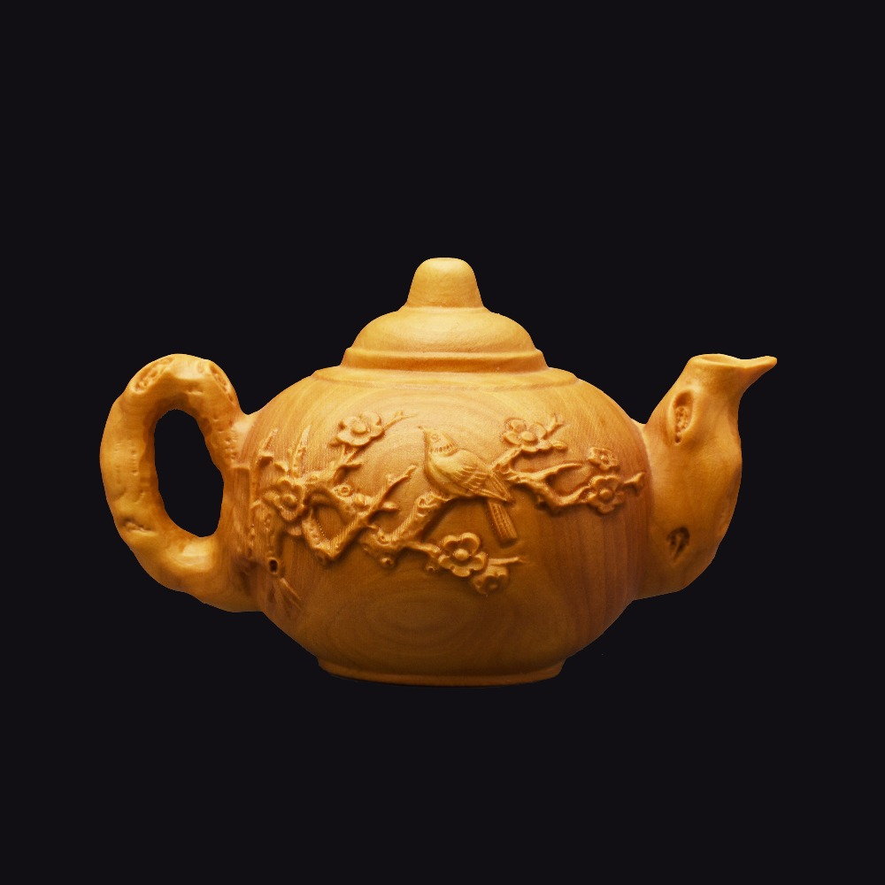 Teapot Chinsse arts and wood crafts Furnishing home decorations accessories ornaments collection chrismas wedding gift