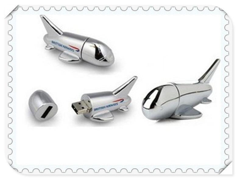 airplane USB 2.0 usb flash drives thumb pendrive u disk usb creativo memory stick 4GB 8GB 16GB 32GB 64GB S296