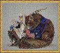 Высокое качество милый прекрасный счетный крест комплект Le Calligraphe в каллиграф кошка китти книга записи Nimue