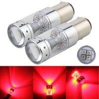 1157 Brake Light Red BAY15D P21 5W 60W CREE Chip XB D Car LED Conversion Bulbs