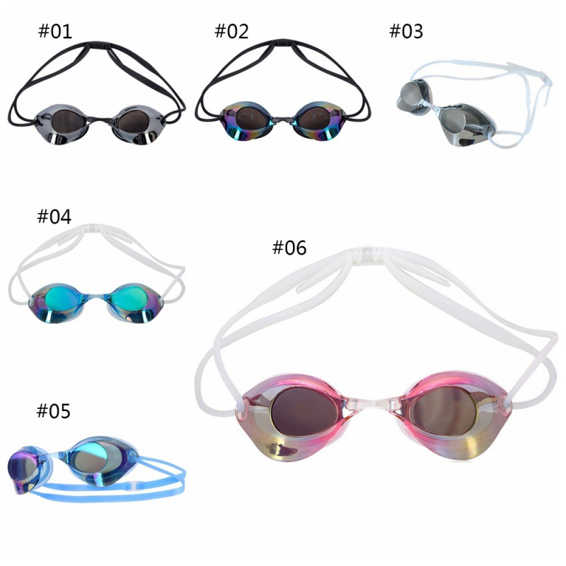 Men And Women Swimming Glasses Professional Glasses Arena Swimming Racing Game Anti-fog Glasses(China)