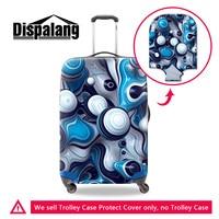 Dispalang diseño personalizado accesorios de viaje para los adolescentes mejor regalo para los hombres viajan equipaje cubierta protectora para maleta
